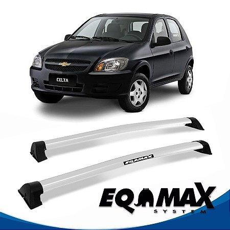 Rack Eqmax Chevrolet Celta 4 Pts Wave 00/11 prata