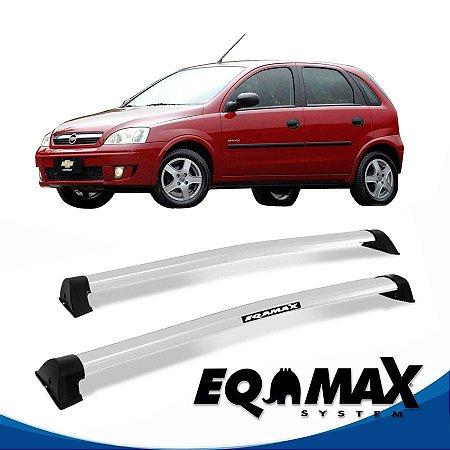 Rack Eqmax Chevrolet Corsa Maxx Hatch 4 Pts Wave 02/12 prata