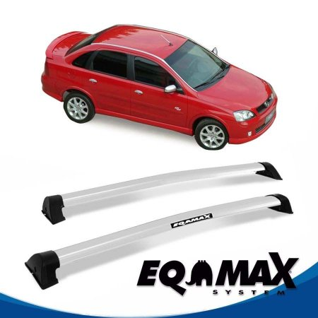 Rack Eqmax Chevrolet Corsa SS Sedan 4 Pts Wave 02/12 Prata