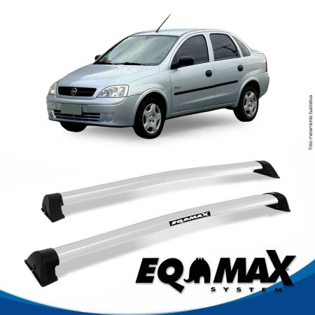 Rack Eqmax Chevrolet Corsa Maxx Sedan 4 Pts Wave 02/12 prata