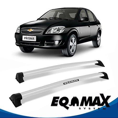 Rack Eqmax Chevrolet Prisma Wave 07/12 prata