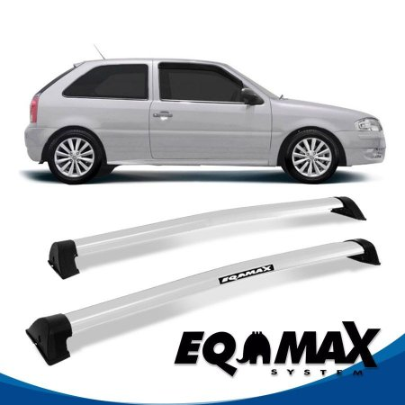 Rack Eqmax VW Gol G3 e G4 2 Pts Wave 99/14 prata