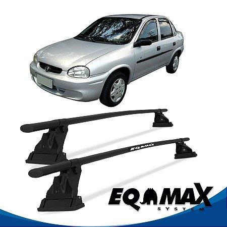 Rack Aço Teto Eqmax Chevrolet Corsa Classic Sedan 4 Pts 94/02