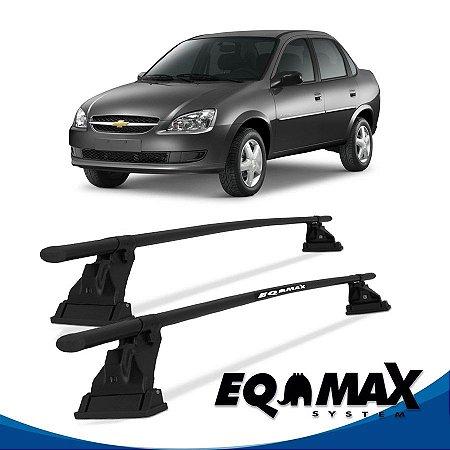 Rack Aço Teto Eqmax Chevrolet Corsa Classic Sedan 4 Pts 97/15