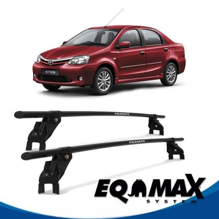 Rack Aço Teto Eqmax Toyota Etios 4 Pts 13/14 Sedan