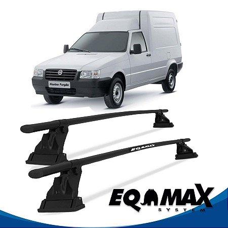 Rack Aço Teto Eqmax Fiat Fiorino Baú 86/14