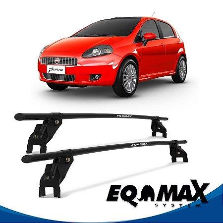 Rack Aço Teto Eqmax Fiat Punto 4 Pts 07/16