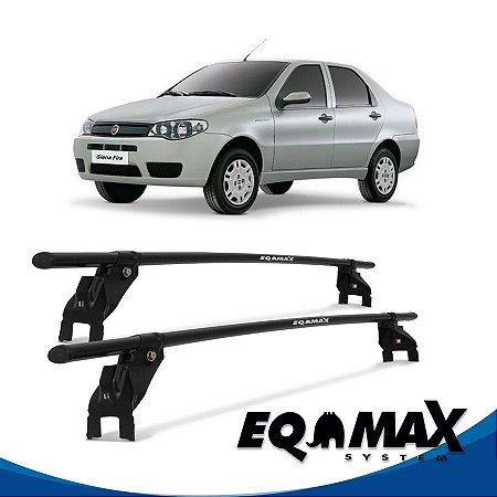 Rack Aço Teto Eqmax Fiat Siena 4 Pts 97/07