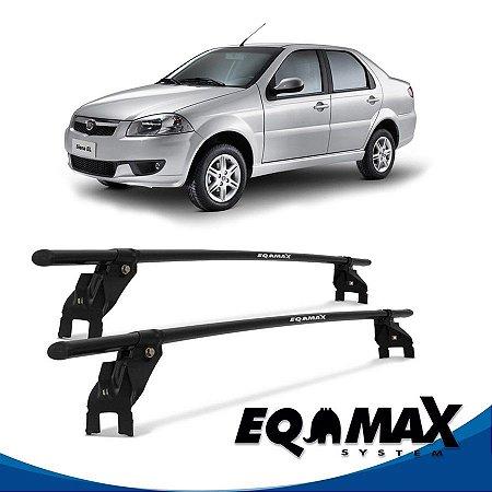 Rack Aço Teto Eqmax Fiat Siena EL 4 Pts 08/14