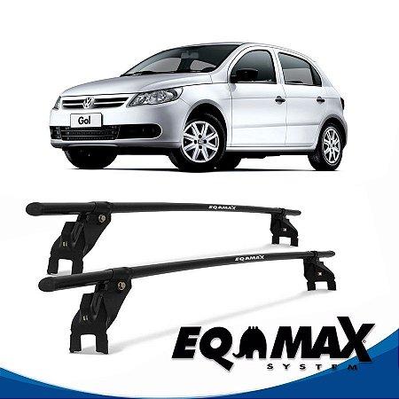 Rack Aço Teto Eqmax VW Gol G5 4 Pts 08/13