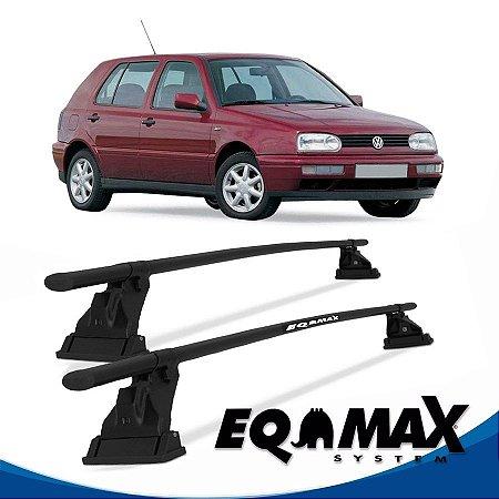 Rack Aço Teto Eqmax VW Golf 4 Pts 94/98