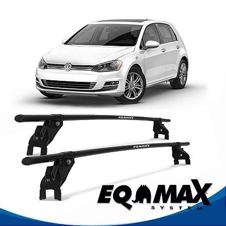 Rack Aço Teto Eqmax VW Golf 4 Pts 99/13