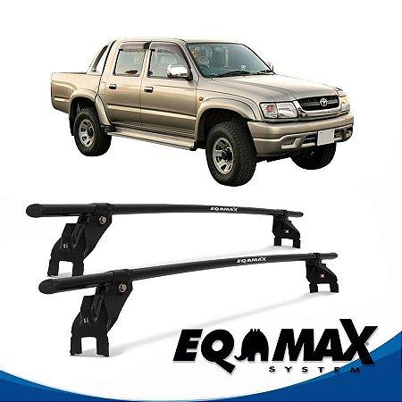 Rack Aço Teto Eqmax Toyota Hilux 4 Pts 06/13