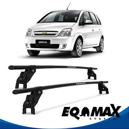 Rack Aço Teto Eqmax Chevrolet Meriva 4 Pts 03/12