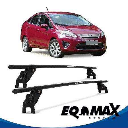 Rack Aço Teto Eqmax Ford New Fiesta Mexicano 4 Pts 11/13 Sedan