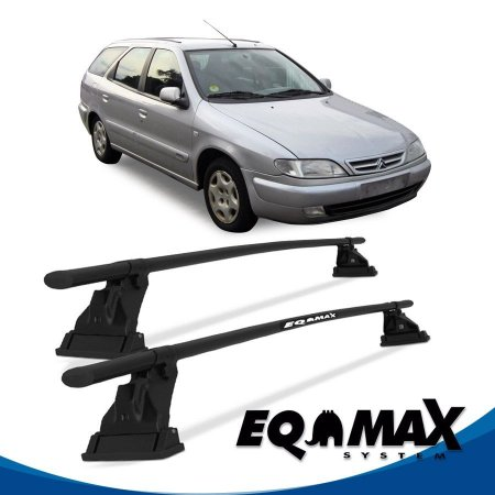 Rack Teto Eqmax Aço Citroen Xsara Break 98/03 4 Pts