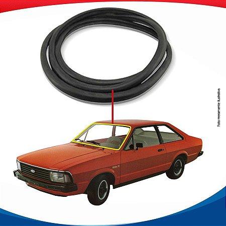 Borracha Parabrisa Ford Corcel II Com Friso 77/97