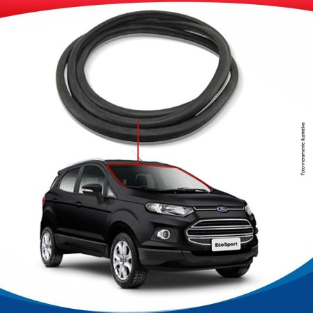 Borracha Superior e Lateral Parabrisa Ford Ecosport 13/16