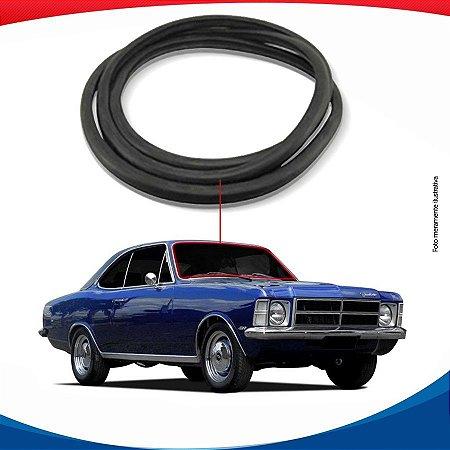 Borracha Parabrisa Chevrolet Opala Coupe Com Friso 69/92
