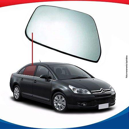 Vidro de porta traseiro direito Citroën C4 Pallas sedan