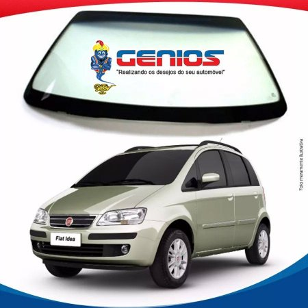 Parabrisa Fiat Idea 05/16 Vidro Dianteiro Com Sensor Fanavid