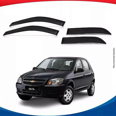 Calha Chuva Chevrolet Gm Celta 03/... 4 Portas