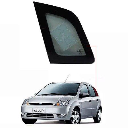 Vidro Óculos Traseiro Lado Esquerdo Ford Fiesta Amazon Hatch