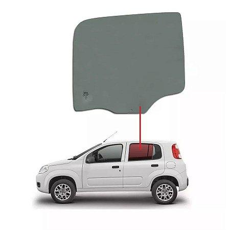 Vidro Porta Traseira Lado Esquerdo Fiat Uno Vivace 4 Portas 11/16