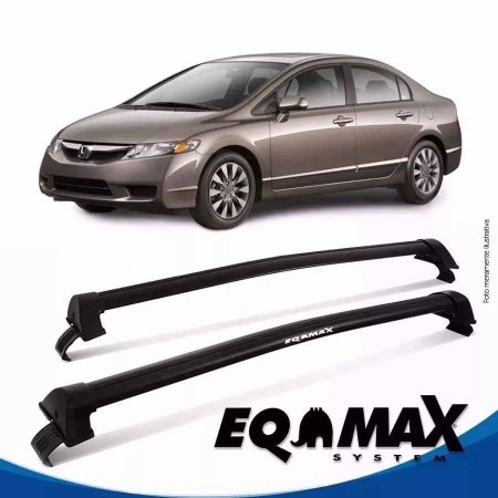 Rack Eqmax New Civic New Wave 06/11 preto