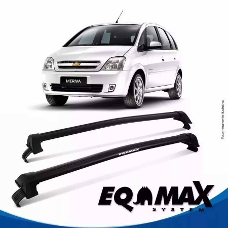 Rack Teto Chevrolet Meriva  New Wave 03/12 preto