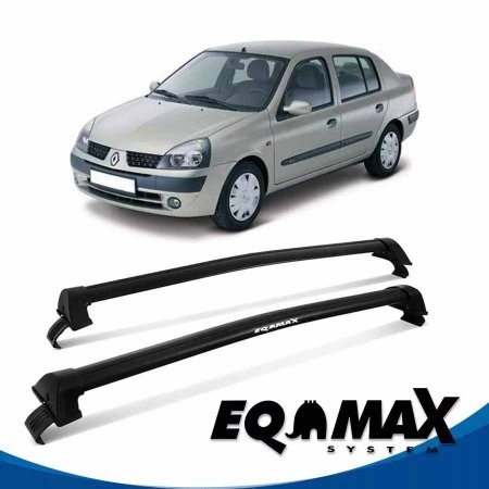 Rack Eqmax Clio 4P Sedan New Wave 00/14 preto