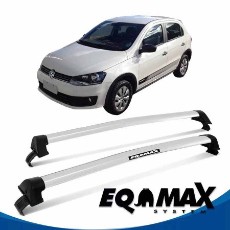 Rack Eqmax Vw Gol Track G6 New Wave 4 Pts 12/14 prata