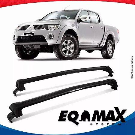 Rack Eqmax Mitsubishi L200 Triton New Wave 2015 Preto