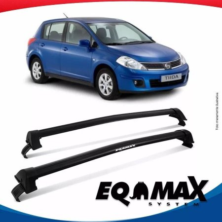 Rack Eqmax Nissan Tiida New Wave 07/13 Preto
