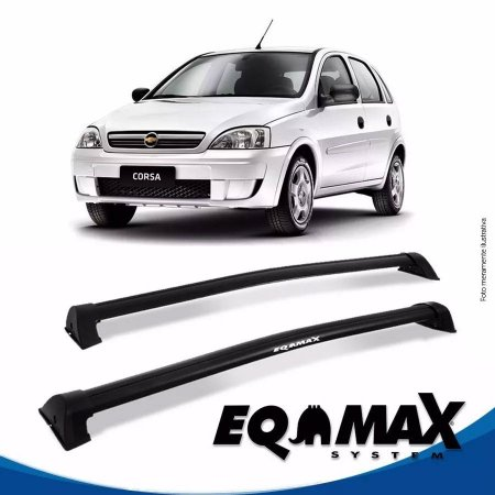 Rack Eqmax Chevrolet Corsa Joy Hatch 4 Pts Wave 02/12 preto