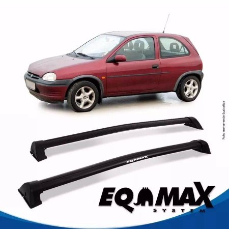 Rack Eqmax Chevrolet Corsa Maxx Hatch 4 Pts Wave 02/12 Preto