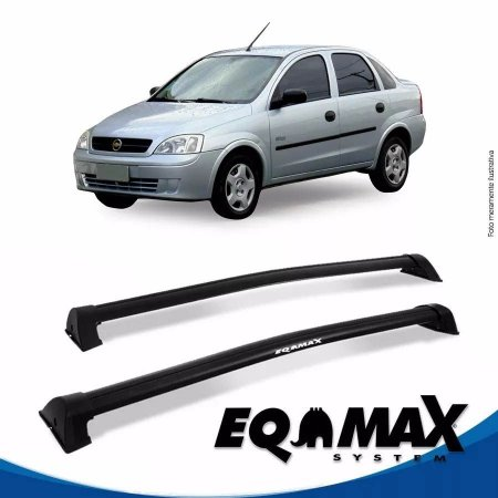 Rack Eqmax Chevrolet Corsa Maxx Sedan 4 Pts Wave 02/12 preto