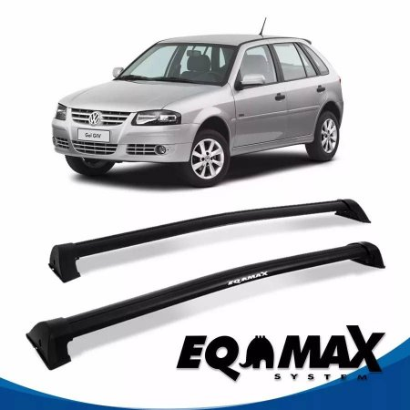 Rack Eqmax VW Gol G3 e G4 4 Pts Wave 99/14 preto