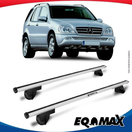 Rack Teto Alpha Aluminio Prata Mercedes ML 230 98/04