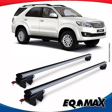 Rack Teto Sigma Aluminio Prata Toyota Hilux SW4 06/14
