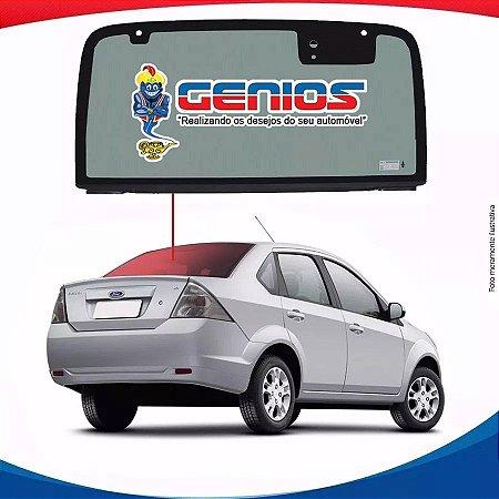 Vigia Liso Ford Fiesta Sedan 03/14 Vidro Traseiro