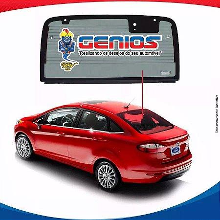 Vigia Térmico Ford Fiesta Sedan 10/16 Vidro Traseiro