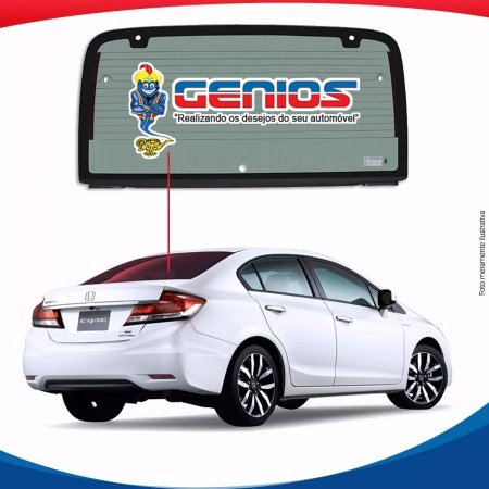Vigia Térmico Honda Civic 13/16 Vidro Traseiro