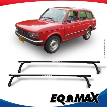 Big Rack Good Life II Eqmax Fiat Panorama Com Canaleta