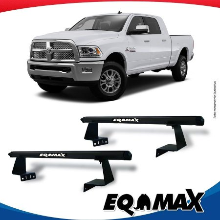 Rack Eqmax para Caçamba Ford F-250  Aluminio Preto