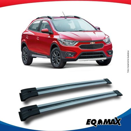Big Travessa Larga Para Longarina Chevrolet Onix Activ Prata