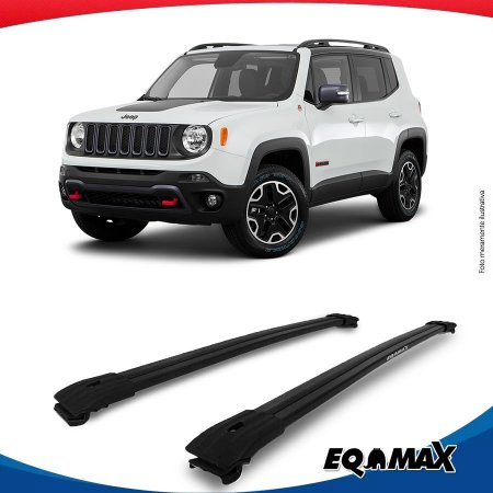 Big Travessa Larga Para Longarina Jeep Renegade Preto