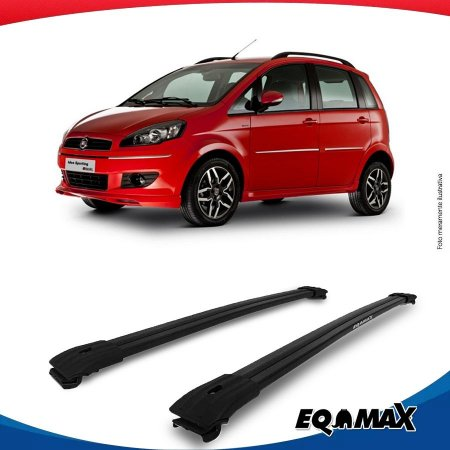 Big Travessa Larga Para Longarina  Fiat Idea Preto