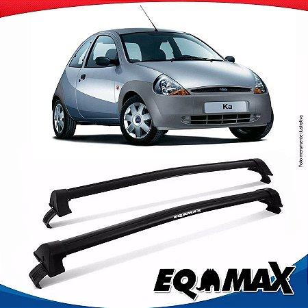Rack Teto Eqmax New Wave Ford Ka 97/07 Preto