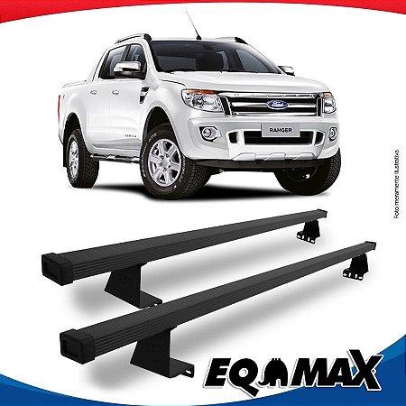 Rack Eqmax para Caçamba Ford Ranger Cabine Dupla 13/16 Aço
